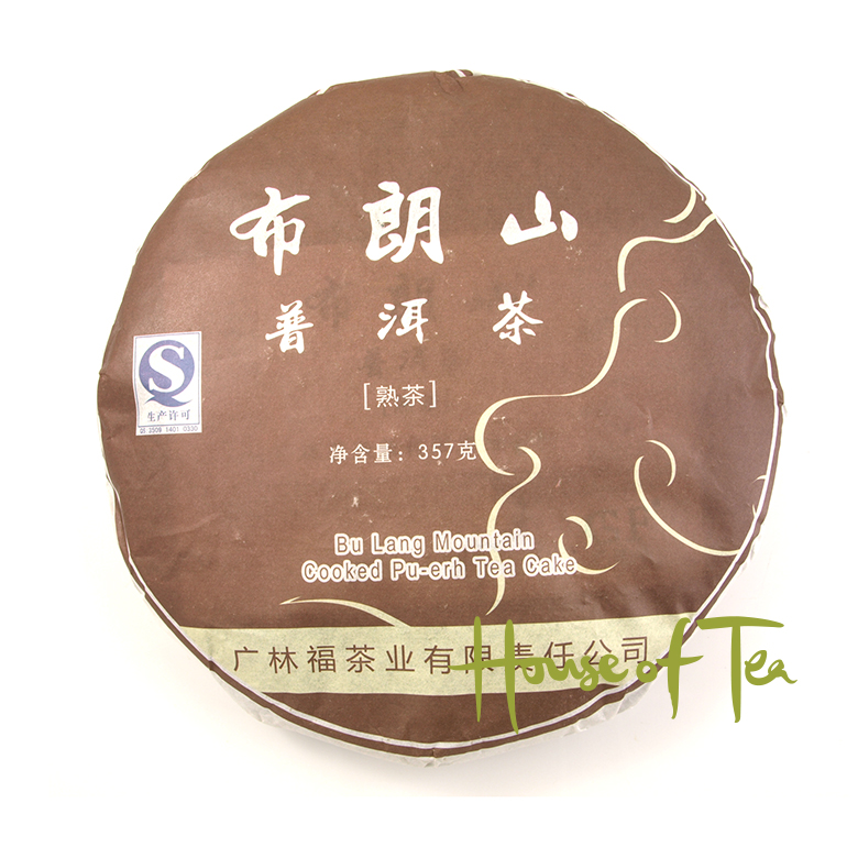 2015 Bu Lang Mountain Cooked 357 gram