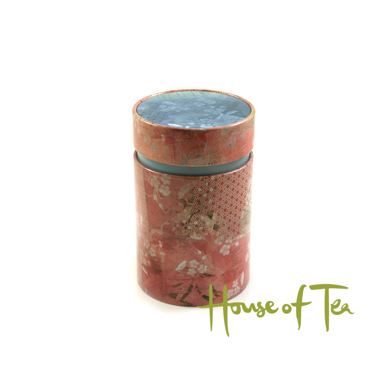 Tea Tin Vintage Rose 150 gram